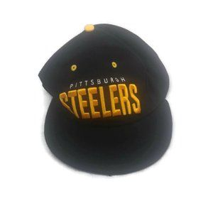 Other - Pittsburgh Steelers Corduroy Snapback Hat Black NF